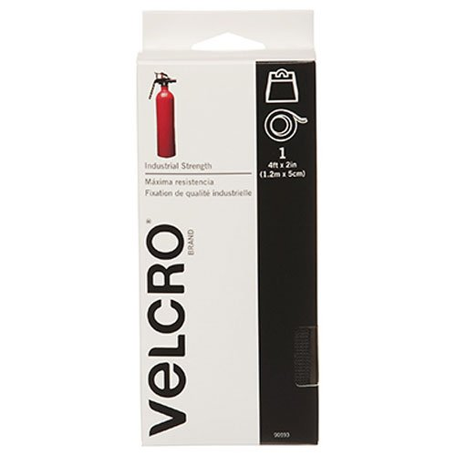 "075967905934 - VELCRO Brand - Industrial Strength - 2"" x 4' - Black carousel main 0"