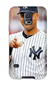 Holly M Denton Davis's Shop Hot For Galaxy Case, High Quality Derek Jeter Baseball For Galaxy S5 Cover Cases