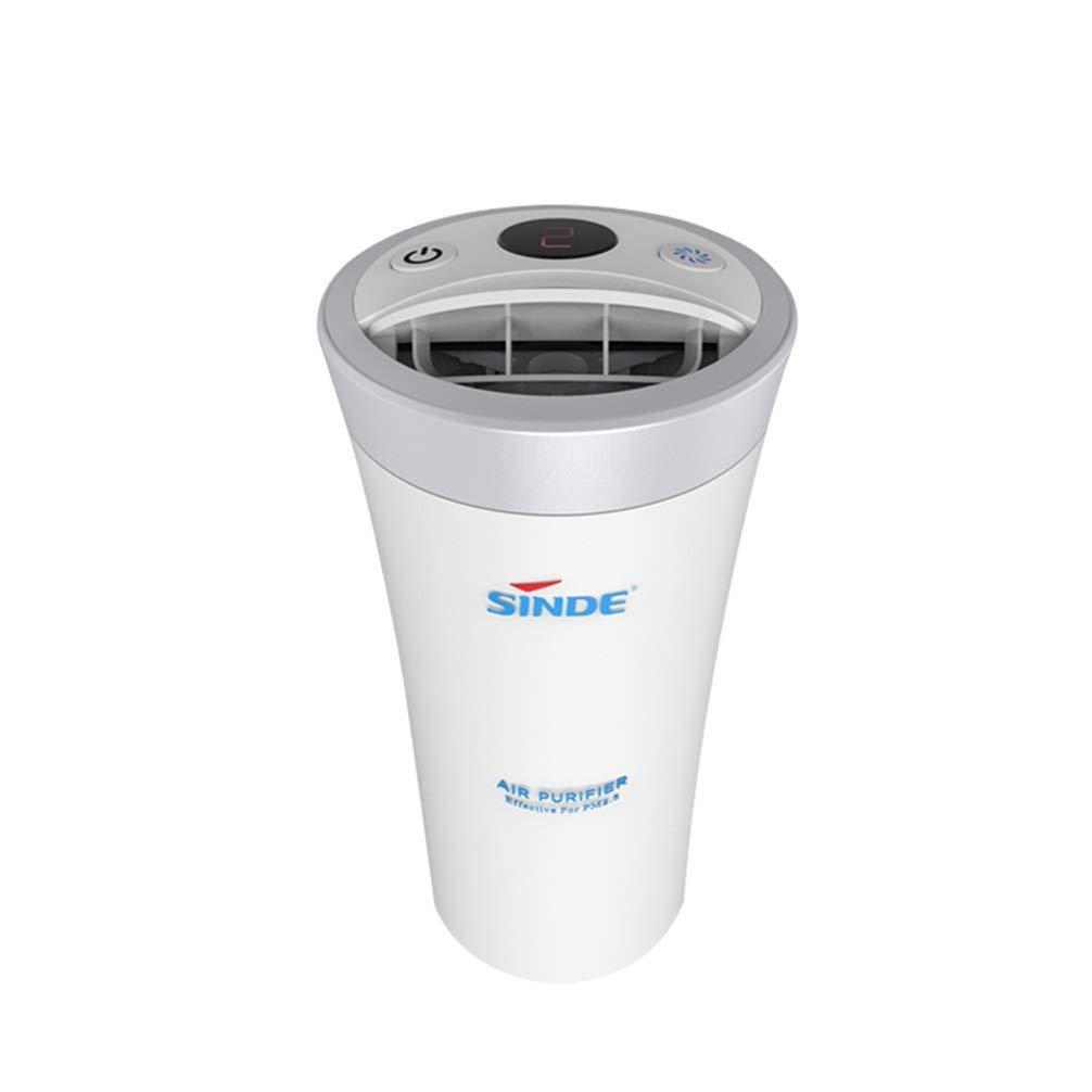携帯用空気清浄機、ミニ空気清浄機、携帯用浄化用空気を浄化してバクテリアの臭いを除去します。車や家庭での使用に適しています。   B07QHWGC1V