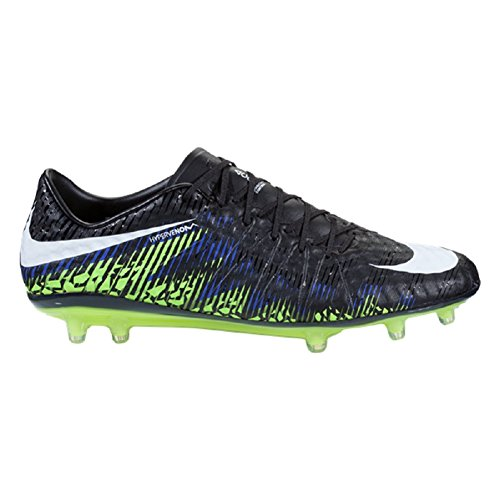 Nike Hypervenom Phinish Fg (svart / Vit / Volt / Paramount Blå) (6)