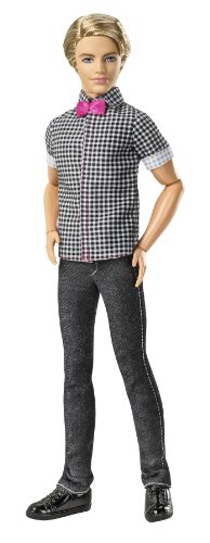 Barbie Fashionistas Ken Checkered Shirt Doll (2012 Barbie)