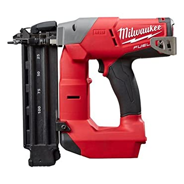 Milwaukee 2740-20 M18 Fuel 18V Cordless 18-Gauge Brad Nailer Tool (Bare Tool)