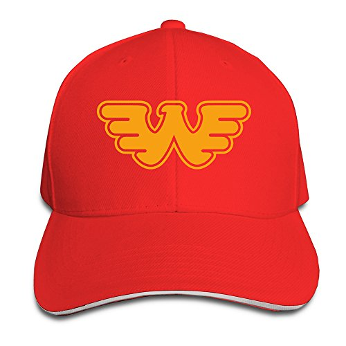 [Cinocu Waylon Jennings Flying W Snapback Hats] (John Paul Jones Costumes)
