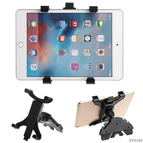 Pedestal Cd Tower - Car Tablet Holder CD Slot Mount Holder Stand for ipad 7 to 11inch Tablet PC Samsung Galaxy Tablet car Accessories