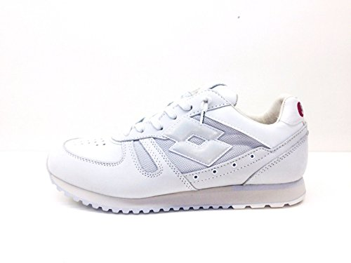 WHITE homme pour Baskets OFF Leggenda Lotto w8OaqZO
