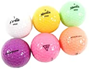 Nitro Noodle Ice Translucent Mix Recycled Golf Ball (36 Count)
