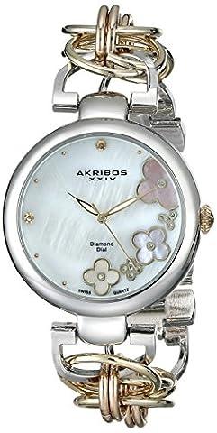 Akribos XXIV Women's AK645TRI