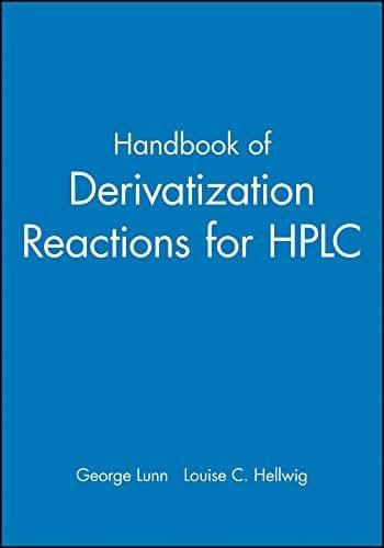 Handbook of Derivatization Reactions for HPLC, Book & CD Set