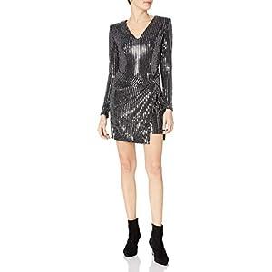 ASTR the label Women's Showstopper Longsleeve Stretch Minidress