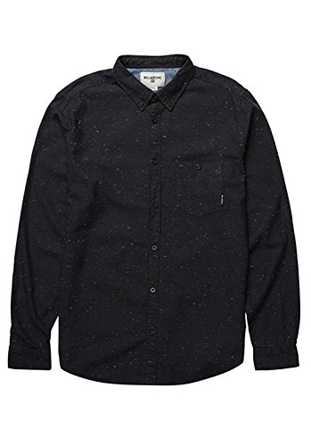 2016 Billabong All Day Speckles Shirt BLACK Z1SH02