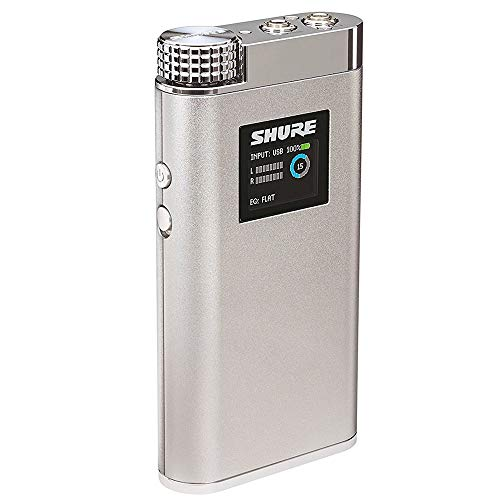 Shure SHA900 Portable Listening Amplifier with USB DAC and Customizable EQ -