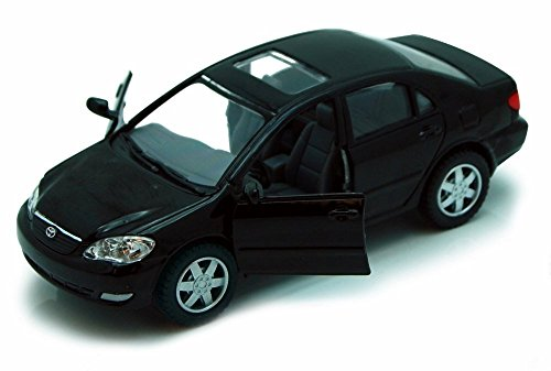 Price comparison product image Kinsmart Toyota Corolla, Black 5099D - 1/36 scale Diecast Model Toy Car, but NO BOX