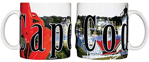 Americaware SMCPC01 Cape Cod 18 oz Full Color Relief Mug
