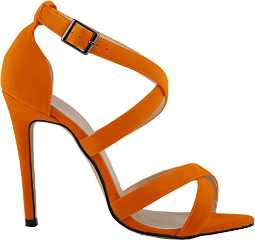 Orange Cfp Donna Peep Donna Cfp toe Peep toe 0Sfwx