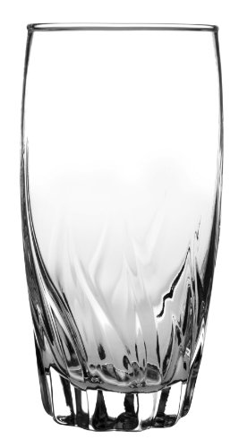 Anchor Hocking Central Park Drinking Glasses, 16 oz (Set of 12)