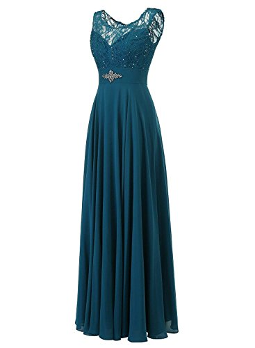 Ballkleid Schulter Burgund Partykleid Damen Perlen Lange Carnivalprom Abendkleider Elegant Brautjunferkleider Eine Chiffon 8ZFxSqCwg