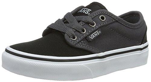 Vans YT Atwood, Zapatillas Para Niños Negro (2 Tone Black/asphalt)