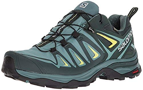 Salomon Women's X Ultra 3 GTX Trail Running Shoe, Artic, 8.5 M US