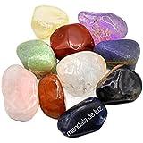 Kit de 10 Pedras Mistas Naturais M