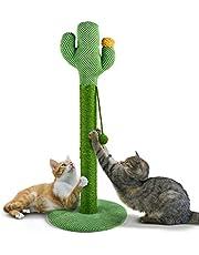 Mora Pets Krabpaal kleine kattenkrabpaal 84 cm grote krabzuil voor katten sisal krabpaal voor grote katten cactus krabpaal
