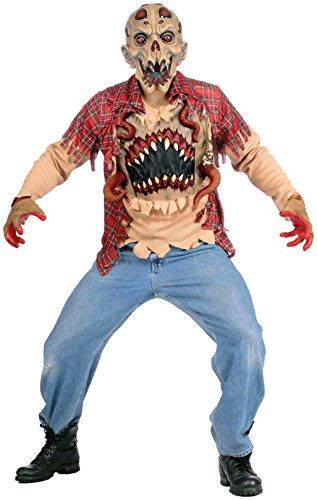 Forum Novelties Men's Alien Abduction Costume, Multi, (Alien Abduction Adult Costumes)