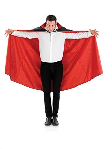 True Blood Vampire Halloween Costumes (fun shack Adults Vampire Cape Unisex Red & Black Halloween Dracula Costume)