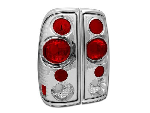 EURO CHROME SPORT ALTEZZA TAILLIGHTS LAMPS KS 1997-2003 F150 F250 F350 STYLESIDE