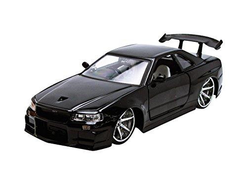 - Jada 2002 Nissan GT-R R34 Vehicle