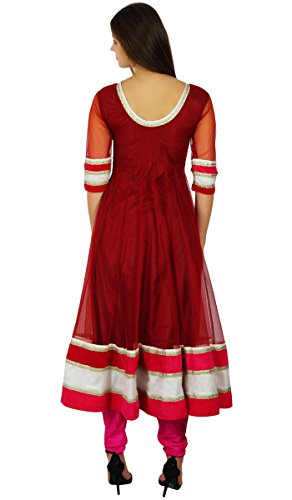 Atasi-Womens-Anarkali-Salwaar-Suit-Set-with-Dupatta-Readymade-Party-Custom-Dress