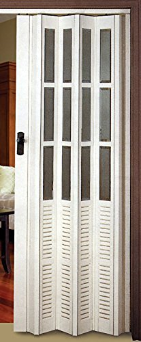 Flexi Space White Glossy Folding Door 34 Wide Canaima