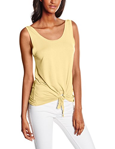 Only Onlmiley S/l Knot Ess, Tank Top Para Mujer Gelb (Mellow Yellow)
