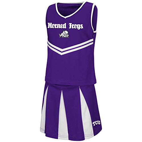 Colosseum Youth NCAA-Girls Cheer Set-TCU Horned Frogs-Youth