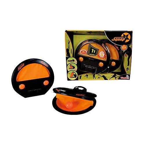 chollos oferta descuentos barato Simba Fangballspiel 2er Set Squap Juego de Habilidad con Cuatro Bolas para Interior y Exterior 7202420 Color 1