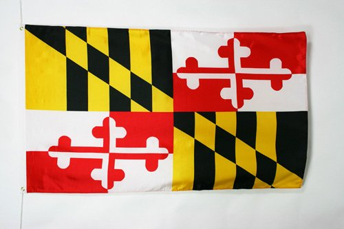 AZ FLAG Maryland Flag 2' x 3' - US State of Maryland Flags 60 x 90 cm - Banner 2x3 ()
