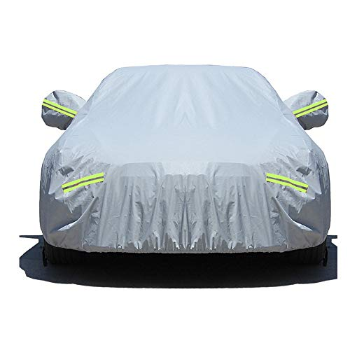 YUWEIPING Car Cover Car Cover Sedan Cover Waterproof/Windproof/Dustproof/Scratch Resistant Outdoor UV Protection Full Car Covers for Geely Message Us Your Car Model (Colour : Grey) – Go4CarZ Store