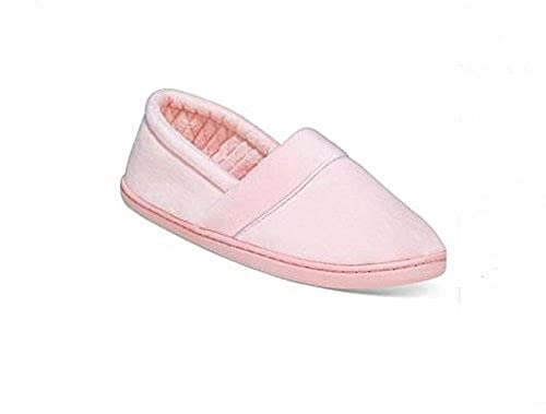 2a0264b237a1 Image Unavailable. Image not available for. Color  Charter Club Microvelour  Closed Memory Foam Slipper ...