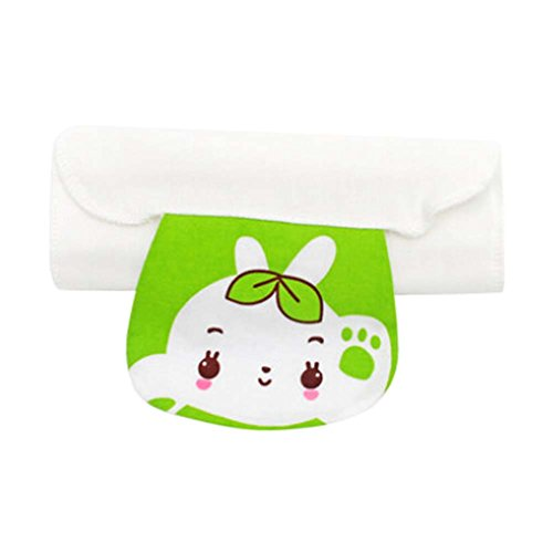 2 Pcs Simple Design Baby Towels with Cartoon Pattern Babies Towel
