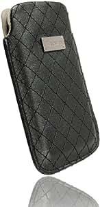 Krusell Coco - Funda de cuero para HTC 7 Trophy, color negro