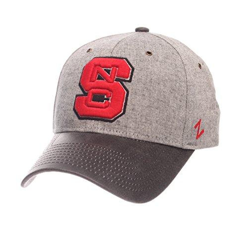 Zephyr NCAA North Carolina State Wolfpack Men's The Supreme Cap, Adjustable, (Zephyr Visor)