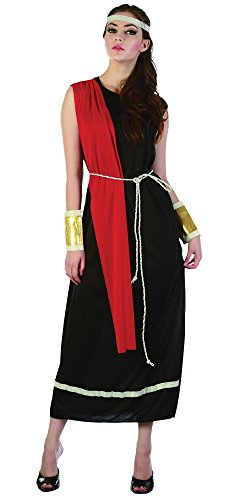 Black Ladies Goddess Toga (Toga Outfits For Women)