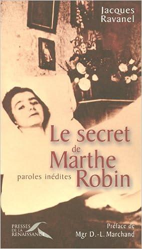 Resultado de imagen de Le secret de Marta Robin