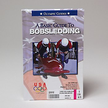 """""""A BASIC GUIDE TO BOBSLEDDING"""" CHILDRENS BOOK HARDCOVER, Case Pack of 35"""