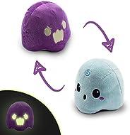 TeeTurtle   Reversible   Cute Mini Plushies   Ghost   Glow in The Dark   Squish Often - Cuddle Daily   Show Yo