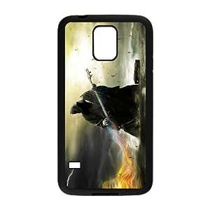 [Tony-Wilson Phone Case] For Samsung Galaxy S5 -IKAI0446031-Love Guitar Pattern