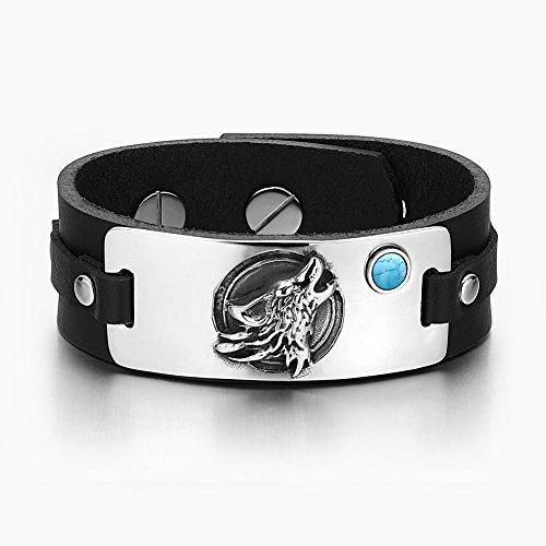 Howling Simulated Turquoise Adjustable Bracelet product image