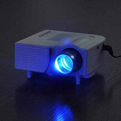 Ocamo Mini Portable LCD Projector 1080P Home Cinema Theater HDMI Interface Home Entertainment Device Black EU Plug from Ocamo