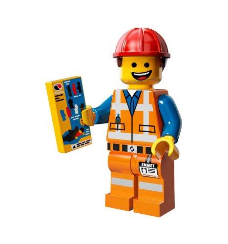 Movie Emmet Construction Worker Minifigure