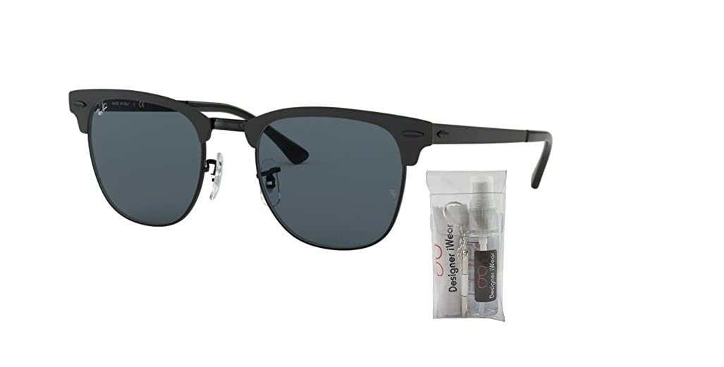 aa1f74e2b Amazon.com: Ray-Ban RB3716 CLUBMASTER METAL 187/58 51M Gold Top Black/Green Polarized  Sunglasses For Men For Women: Clothing
