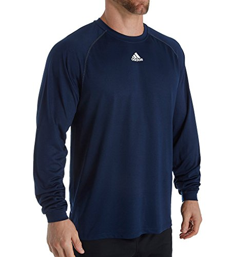 adidas Climalite Relaxed Fit Long Sleeve T-Shirt (2946) XL/Collegiate Navy