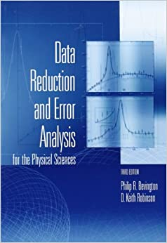 Data Reduction And Error Analysis For The Physical Sciences Download Pdf